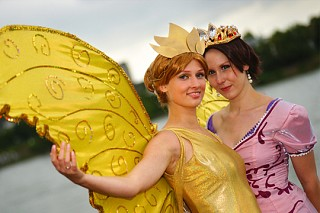 Rapunzel and Queen Clarion   Photo by MysteriousMaemi ...