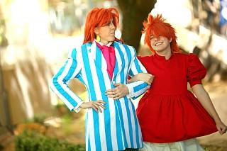 Ponyo mother cosplay
