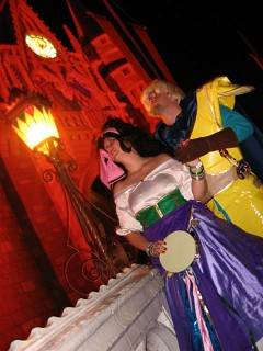 Esmeralda And Phoebus Costumes Esmeralda and Phoebus